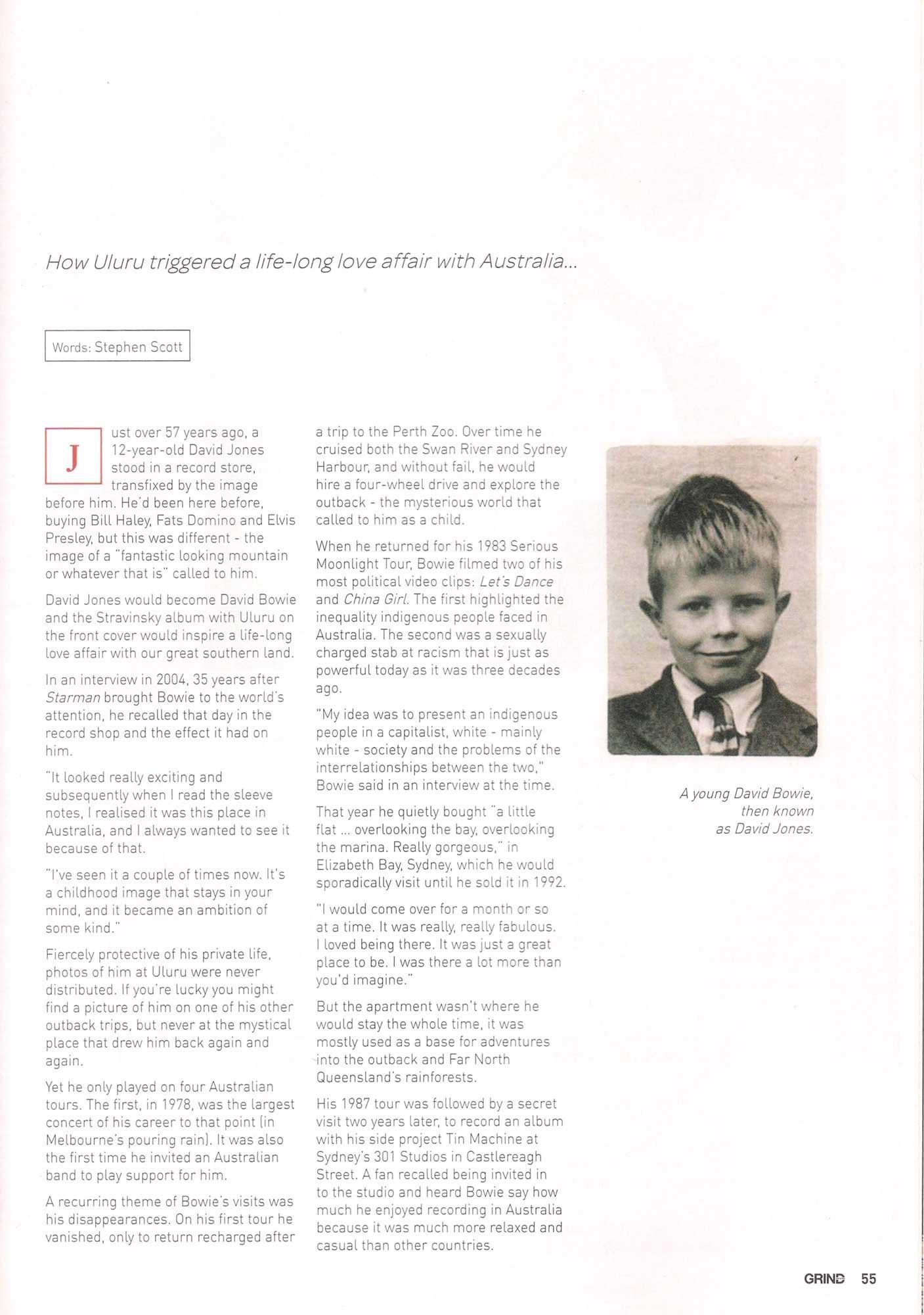 Bowie Grind article p2