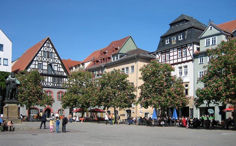 Yet Another Blog  JenaAltmarkt am 1 Mai