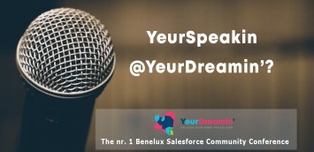 Yeudreamin call for speakers