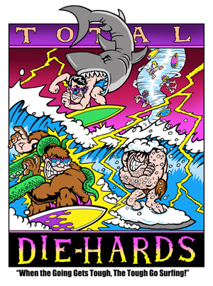 Classic T & C Surf Cartoons Of The 80s : The Resurrection