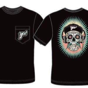 YEW skull pocket tee