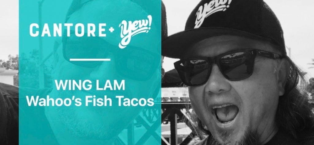 wing lam of wahoo's fish tacos