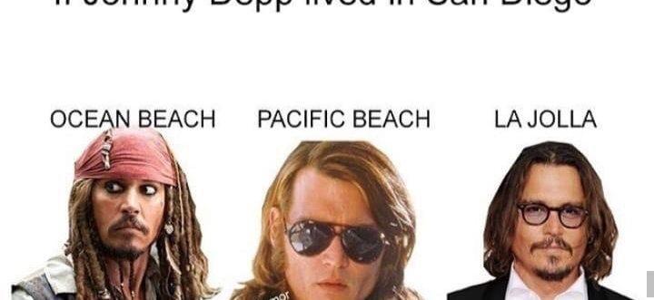 Johnny Depp San Diego