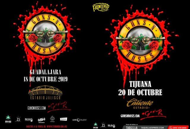 Guns N' Roses Tijuana