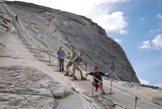 Hike Half Dome Yosemite National Park Guided Half Dome