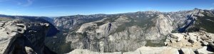 Here for Half Dome: Yosemite Panorama Photos 10.22.14