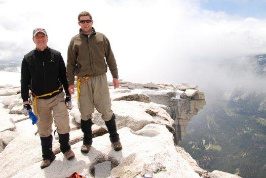 Yosemite-HalfDome-Summit-Baseball-YExplore-DeGrazio-May2010