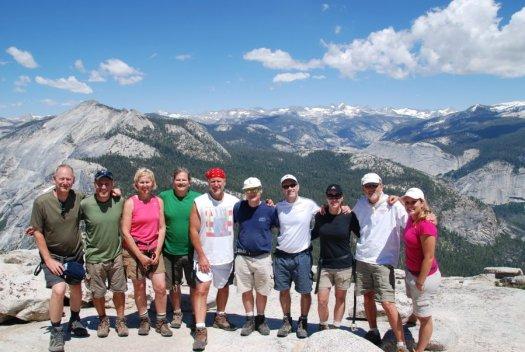 Yosemite-HalfDome-Team-YExplore-DeGrazio-JUL2011