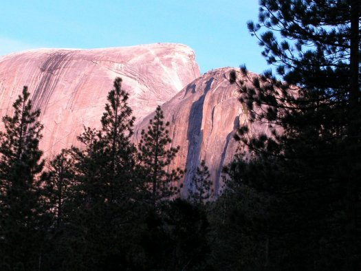 Yosemite-HalfDome-Sunrise-YExplore-DeGrazio-MAY2006