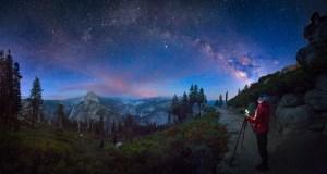 Summer Night Skies in Yosemite