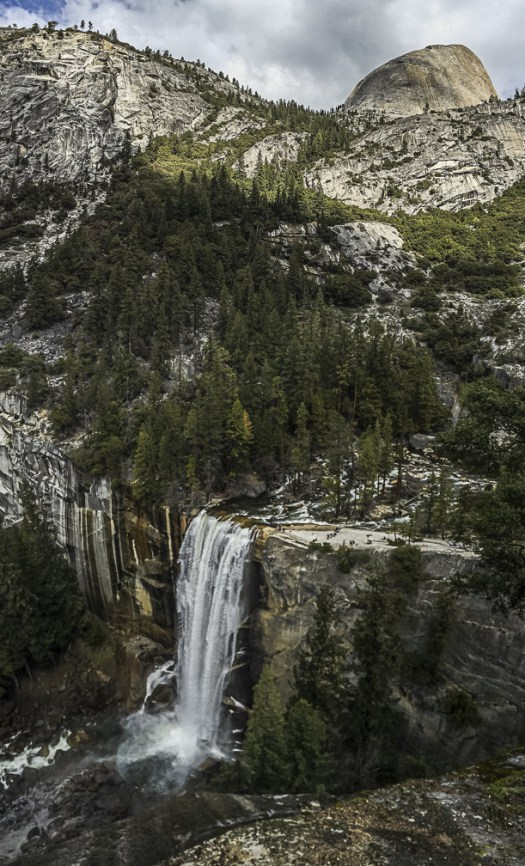 March 2016 Yosemite Instagram Vernal Fall Half Dome