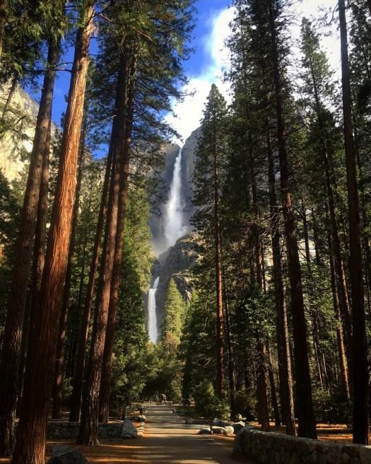 Yosemite Falls Path