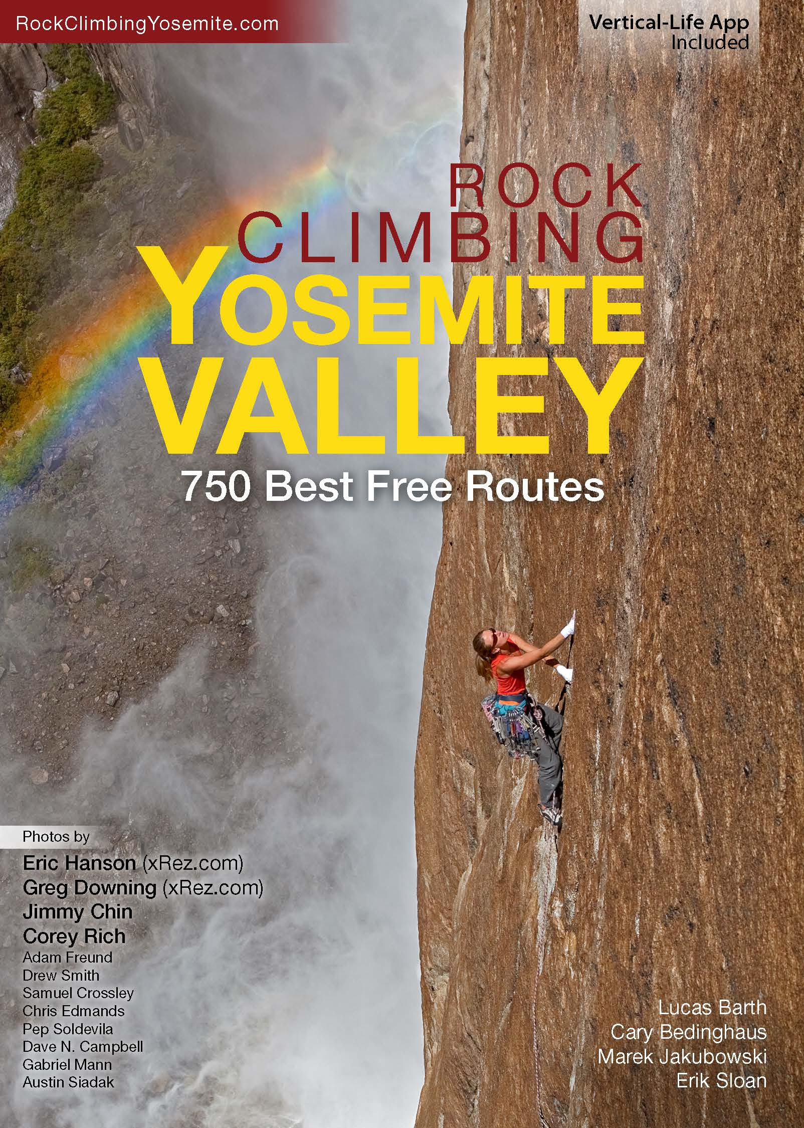 Rock Climbing Yosemite Valley Guide Book