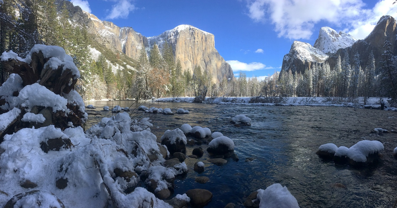 Yosemite January 2017 Instagram