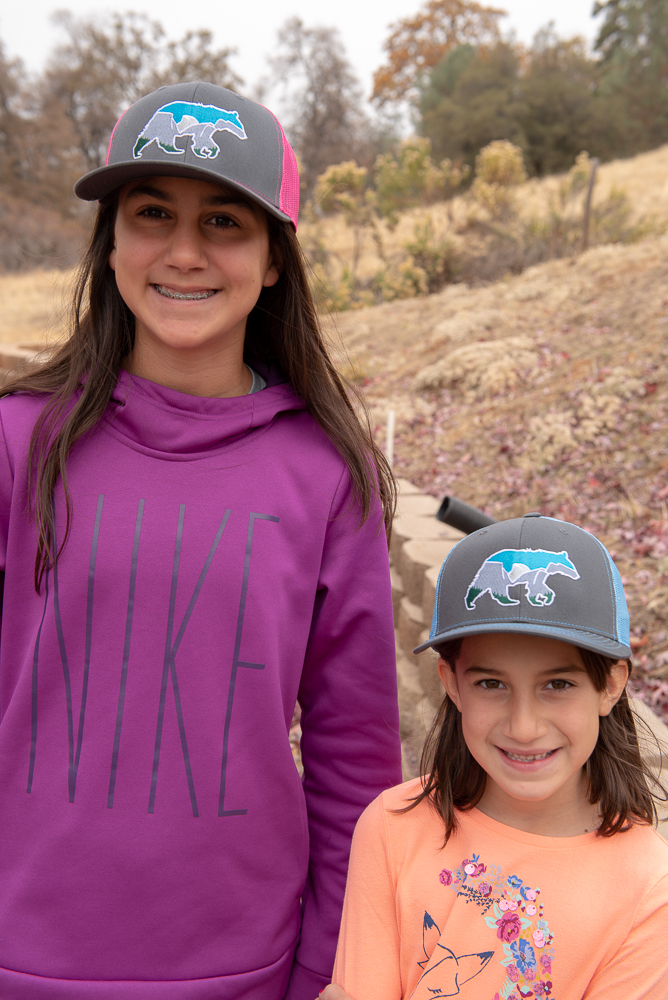 Yosemite Bear Richardson Caps