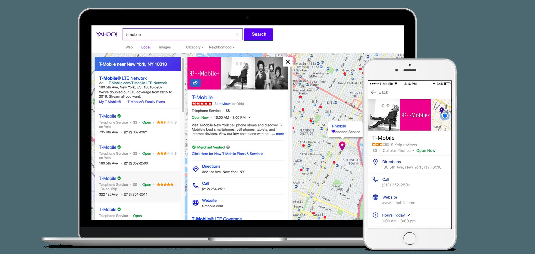 Yahoo!   Update Your Yahoo! Business Listings - Yext