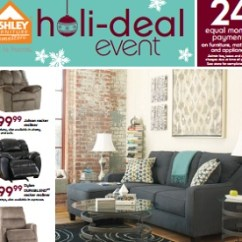 Ashley Cohes Sofa Chaise Grey Microfiber Sectional Furniture Flyer And Weekly Specials December 3 24 2015 Shayla 80