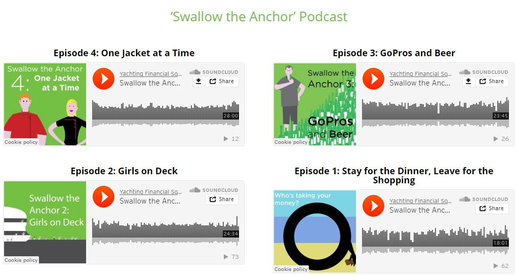 Swallow the Anchor Podcast Launch