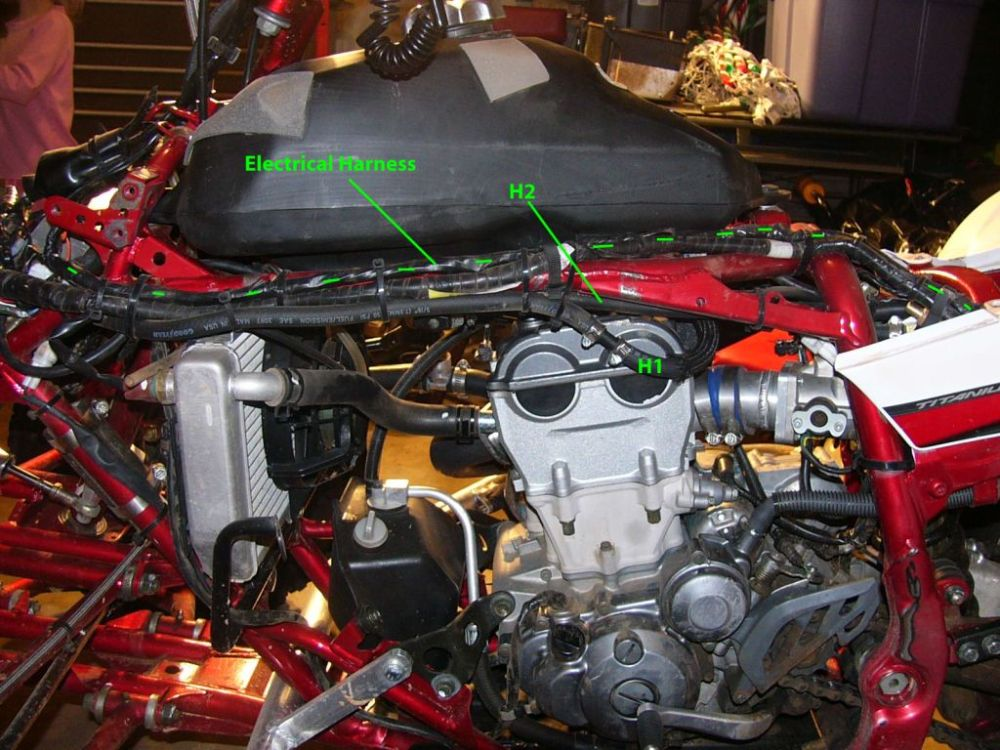medium resolution of 2003 yfz 450 wiring harness wiring diagram repair guides 2003 yfz 450 wiring harness