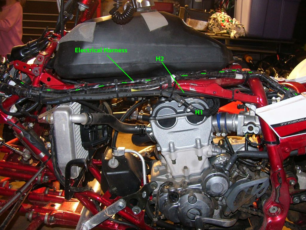 hight resolution of 2003 yfz 450 wiring harness wiring diagram repair guides 2003 yfz 450 wiring harness