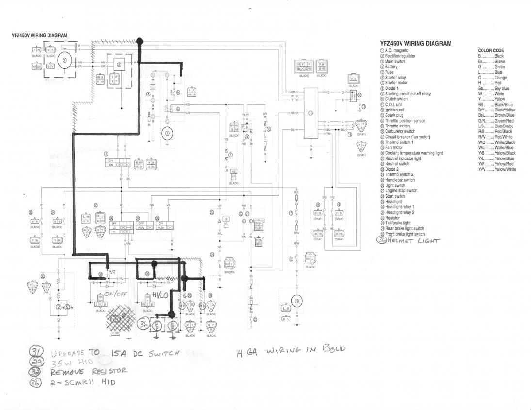 Yamaha Grizzly 700 Wiring Diagram Yamaha Wiring Diagram