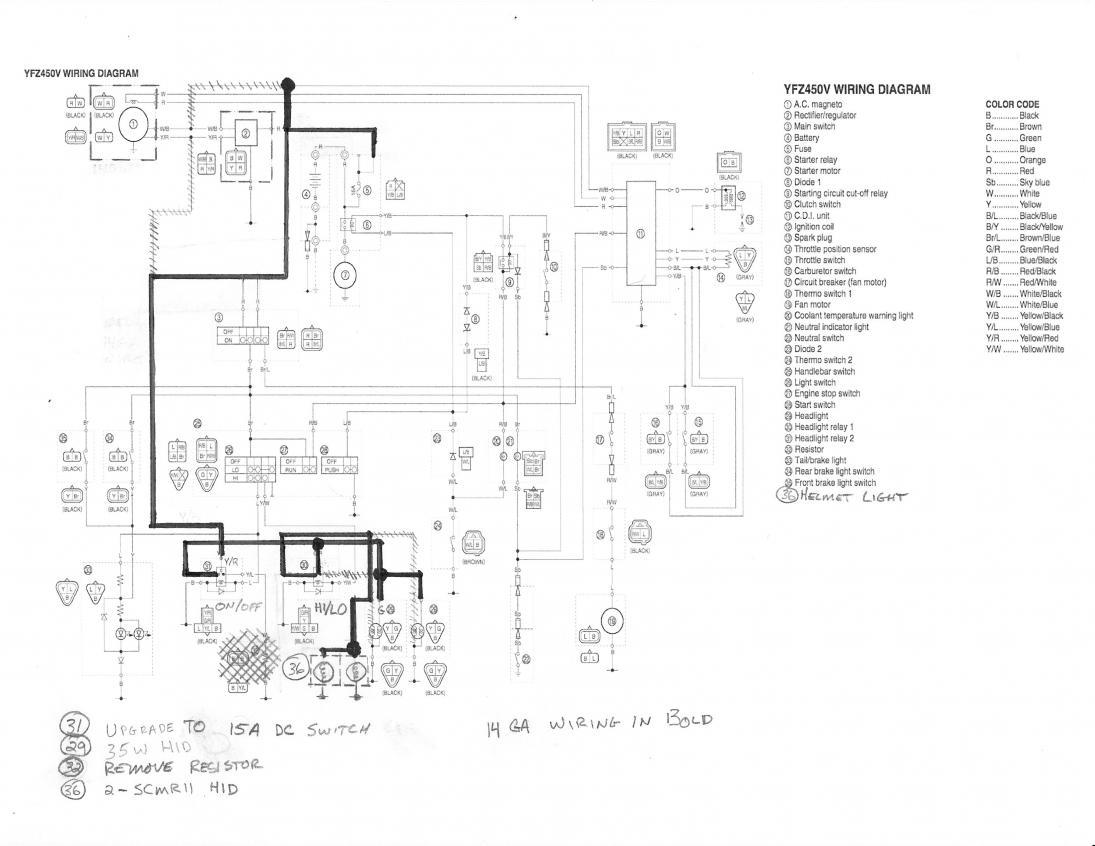 Banshee Wiring Diagram: 1999 yamaha banshee wiring diagram banshee dc conversion how to ,Design