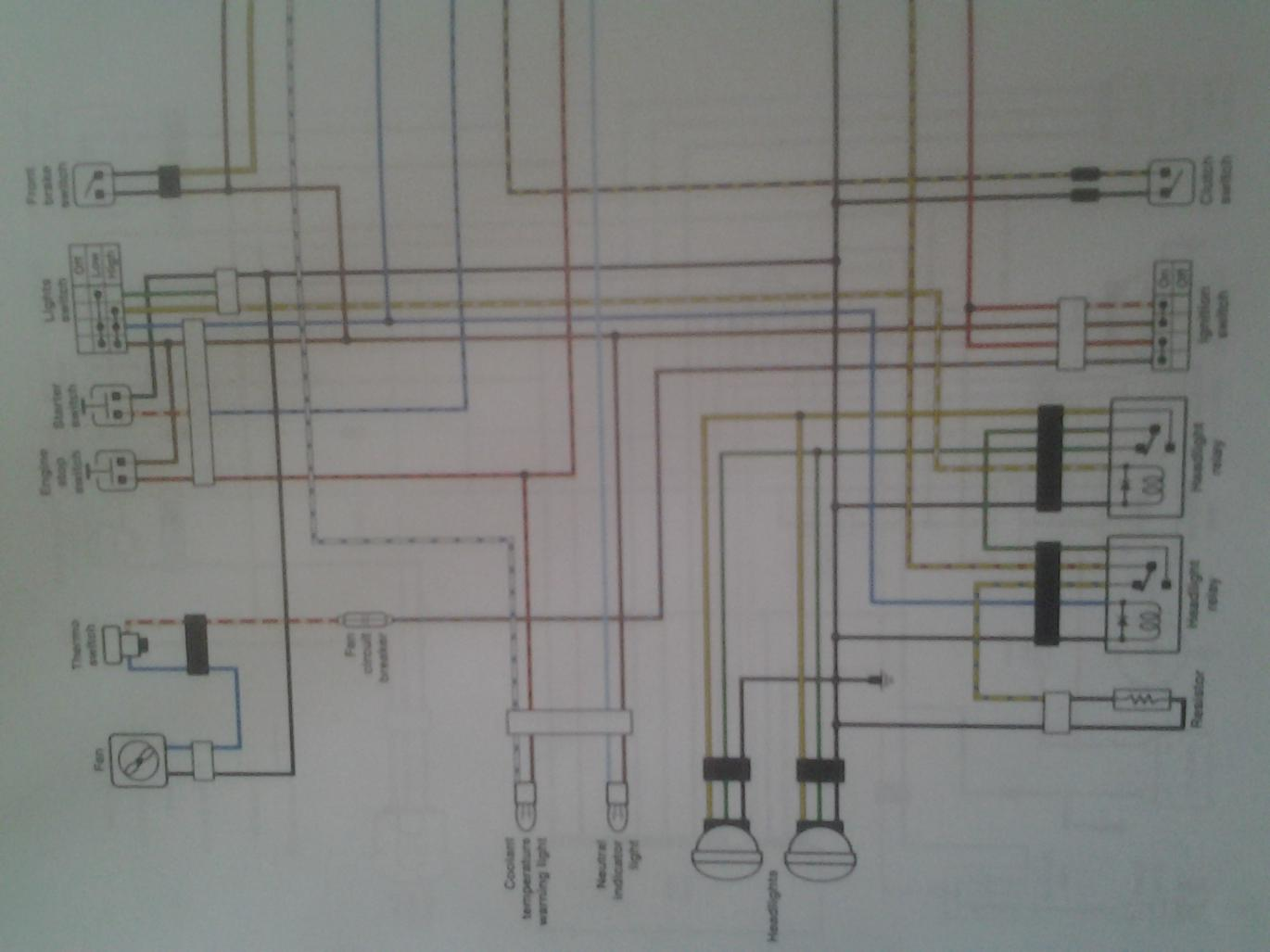 Wiring Diagrams Along With Trail Tech Vapor Wiring Diagram Wiring