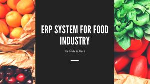 ERP for food industry