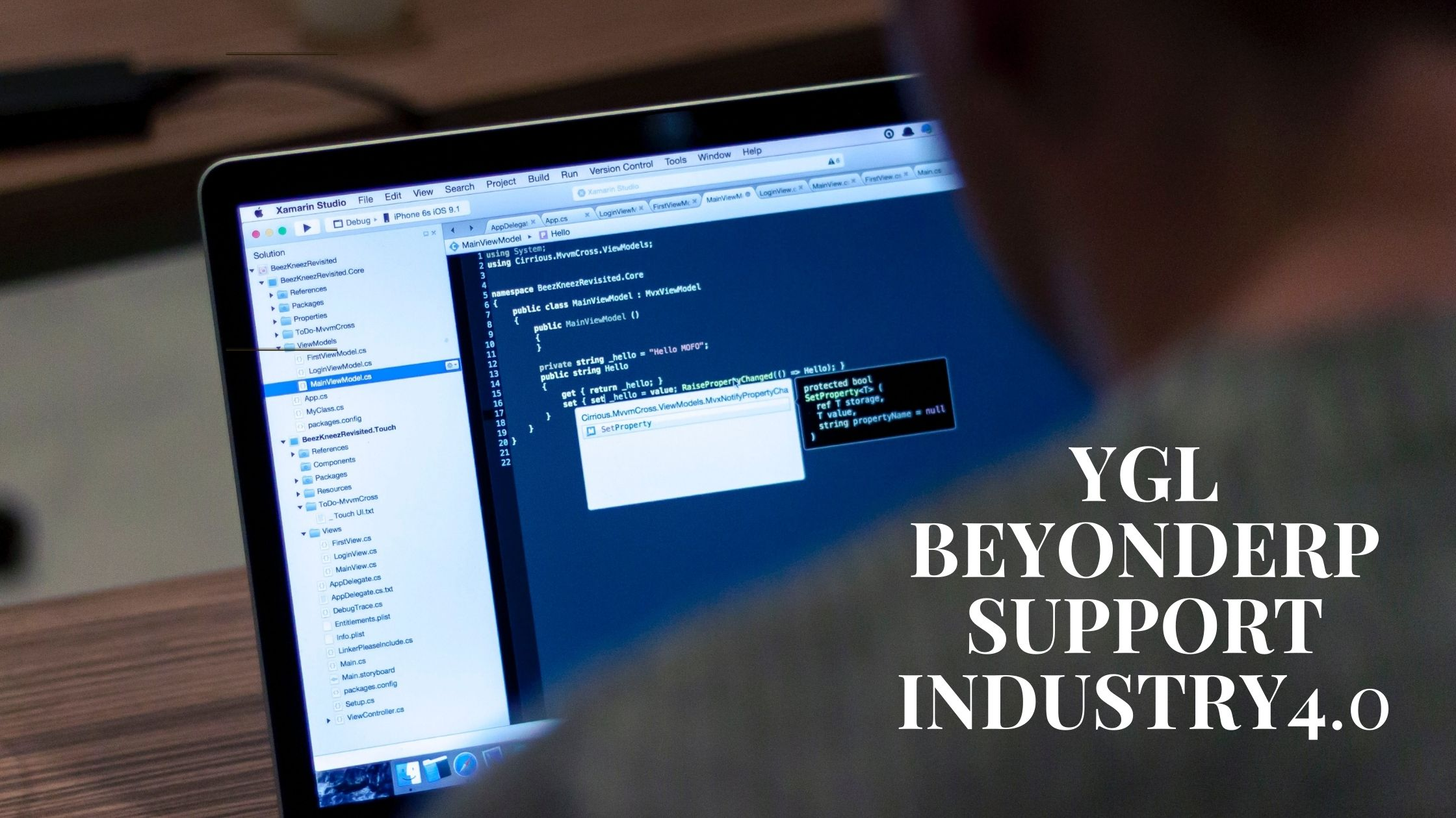 BeyondERP supports Industry4.0