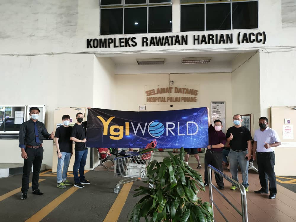 CSR | YGL donated computers to Penang General Hospital
