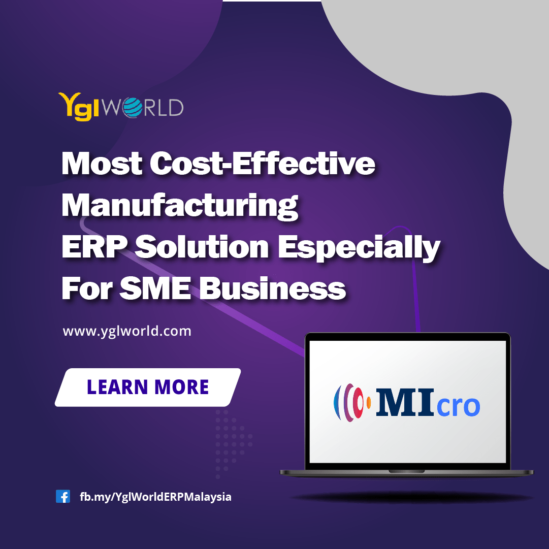 Affordable cloud based ERP manufacturing software for micro enterprise