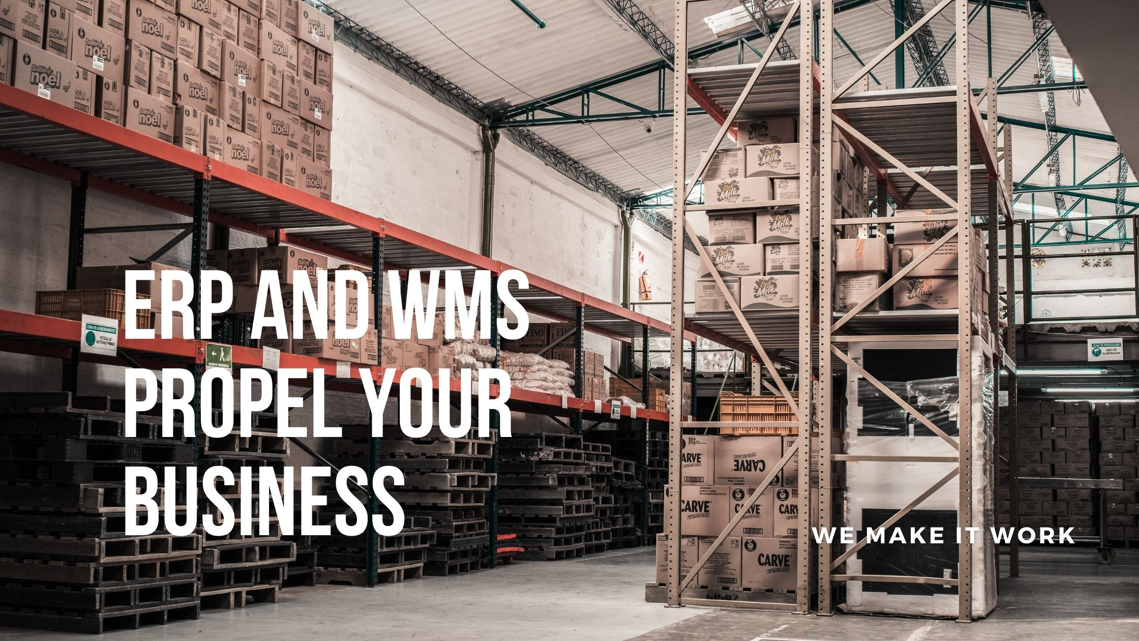 ERP and WMS software propel your business   BeyondERP