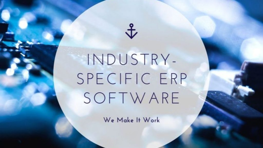 Industry-specific ERP software