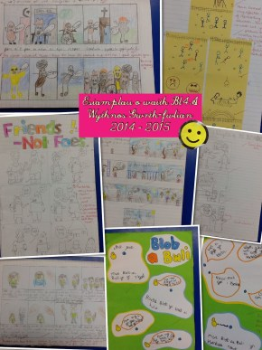 Work from Anti-Bullying Week 2014-2015