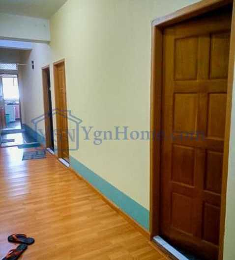 1716 Sqft with 3 BR Mini Condo for RENT in 53 Street, Botahtaung tsp.