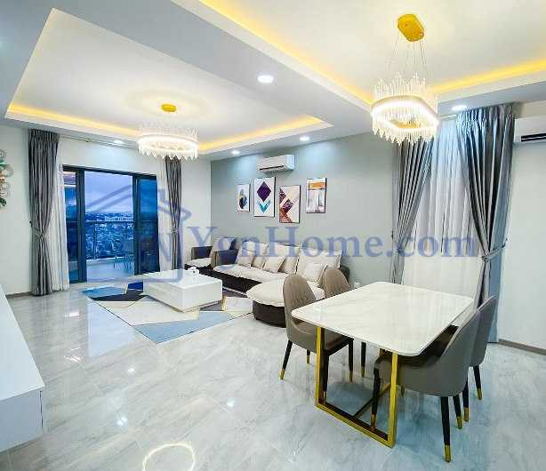 1350 Sqft with 2 BR Condo for RENT in Time City Condo, Kamaryut Tsp.
