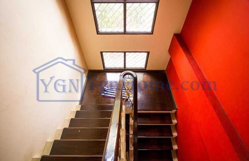 135 x 95 Land with 2 RC House for RENT in Kone Myint Yeik Thar Street , Mayangone Tsp.
