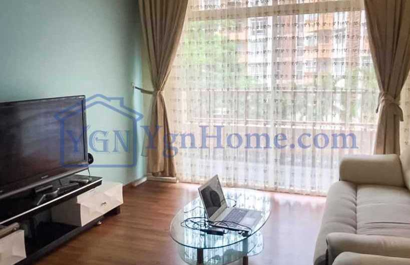 1185 Sqft with 3 BR Condo for RENT in Star City Condo, Thanlyin tsp.