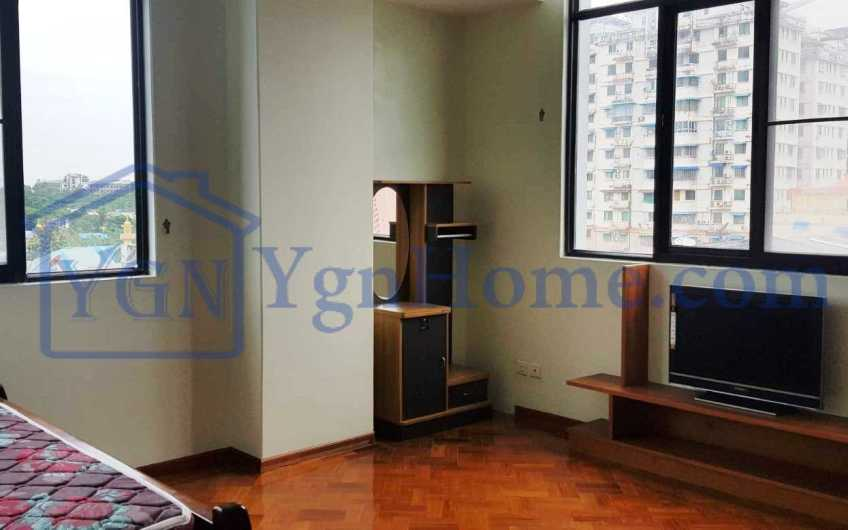 2000 Sqft with 2 BR Condo for RENT in Stadiun View Mini Condo, Mingalar Taung Nyunt Tsp.