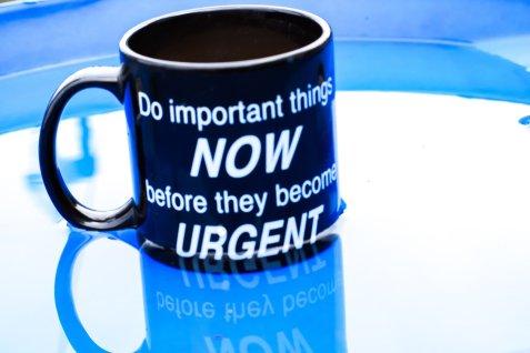 urgent mais pas important