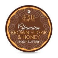Ghanaian Brown Sugar And Honey Shea Body Balm 4oz