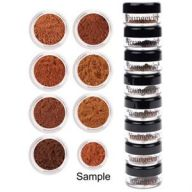Mineral Makeup Sample Tower Medium To Dark
