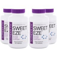 Slender Fx Sweet Eze 120ct 4 Pack