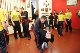 Peterhead Sifu Ian Rose demonstrates a technique