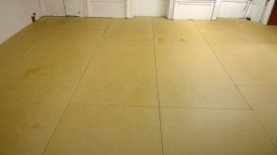 Suspended flooring installed early 2013