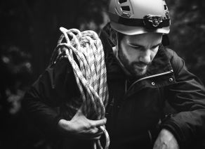 Man rope rescue