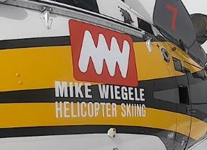 Mike Wiegele heli-skiing tours logo
