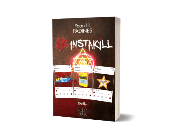 roman broché #instakill thriller psychologique yoan h padines