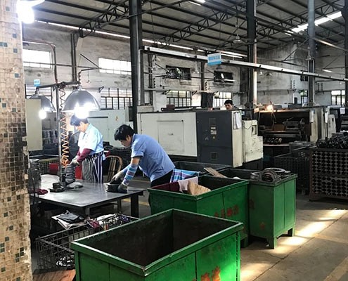 Yide casting machining room