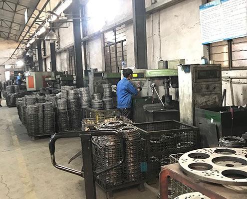 casting machining room